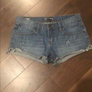 RUSTY SZ 5 Juniors Denim Shorts